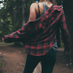 It's fall and the NEW flannel shirts have arrived.