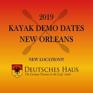 2019 KAYAK DEMO DATES - NEW ORLEANS