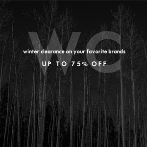 Final Clearance on Winter Clothing