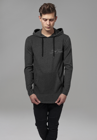 Jersey Hoodie - Charcoal