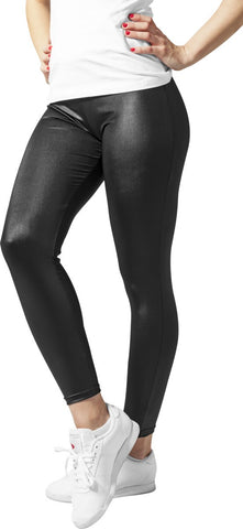 Ladies Leather Imitation Leggings
