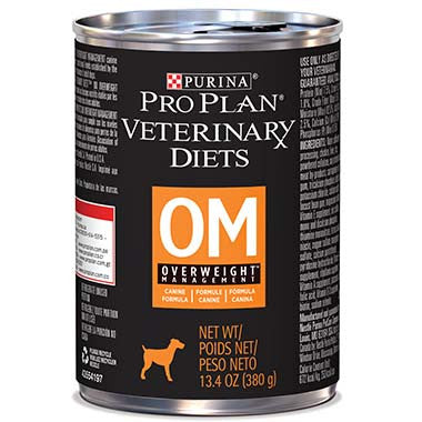 Purina Pro Plan Veterinary Diet OM Overweight Management Canine Formula Canned