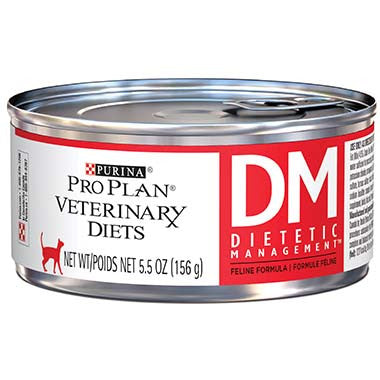 Purina Pro Plan Veterinary Diets DM Dietetic Management Feline Formula Canned