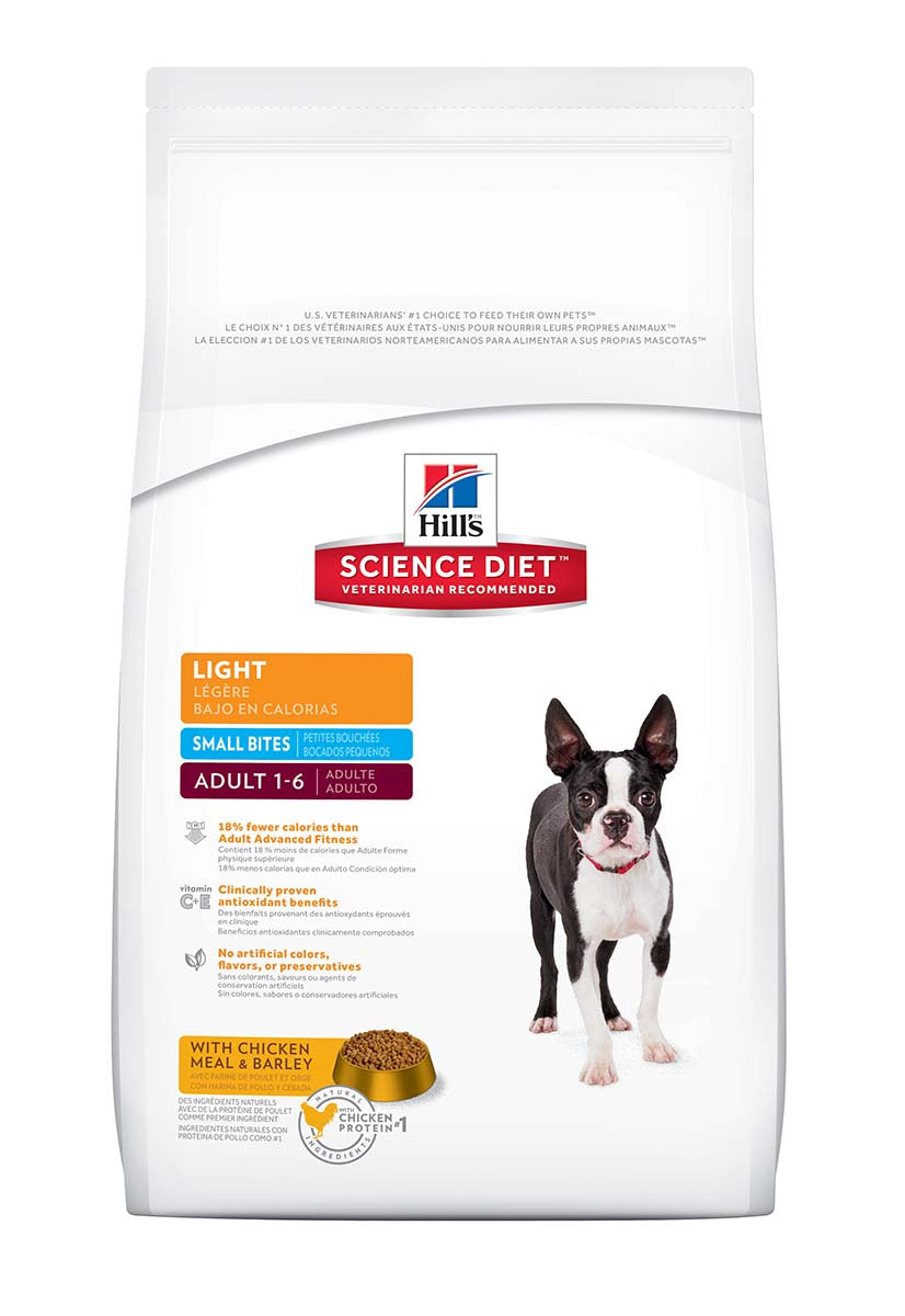 Hill's Science Diet Adult Light Small Bites Canine Dry