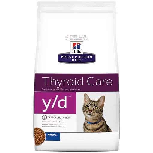 Hill's Prescription Diet y/d Feline Thyroid Health Dry