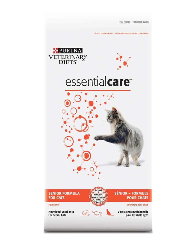 Purina Veterinary Diets Essential Care Senior Formula For Cats Dry