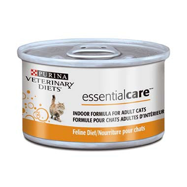 Purina Veterinary Diets Essential Care Indoor Formula for Adult Cats Canned