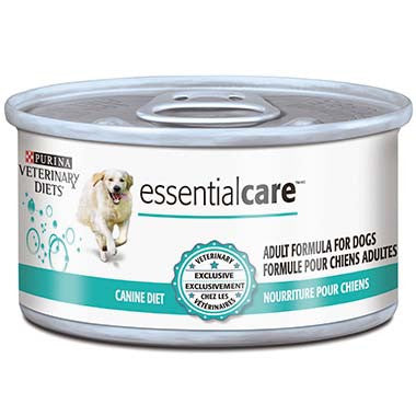 Purina Veterinary Diets Essential Care Adult Formula For Dogs Canned