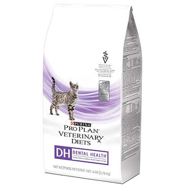 Purina Pro Plan Veterinary Diets DH Dental Health Feline Formula Dry