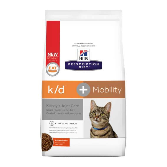 Hill's Prescription Diet k/d + Mobility Feline Dry