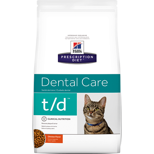 Hill's Prescription Diet t/d Feline Dry
