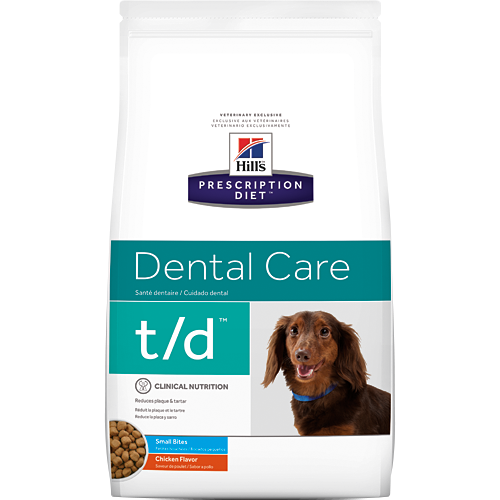 Hill's Prescription Diet t/d Canine Small Bites Dry