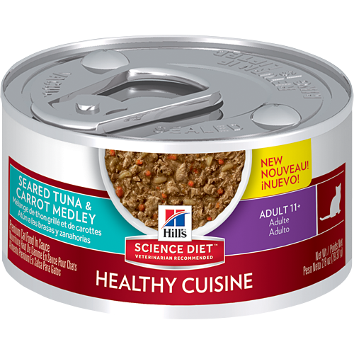 Hill's Science Diet Adult 11+ Healthy Cuisine Feline Canned
