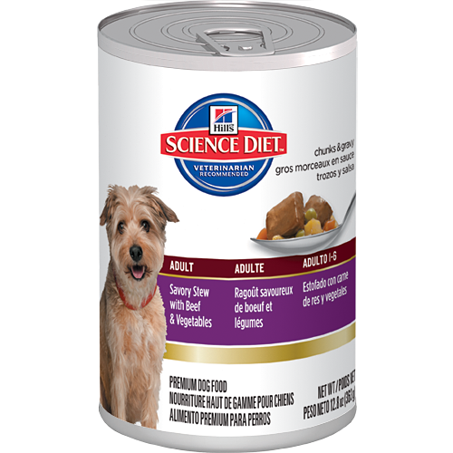 Science Diet Adult Savory Stews Canine Canned