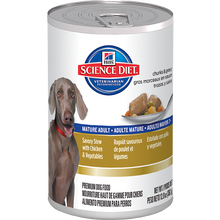 Hill's Science Diet Mature Adult Savory Stew Canine Canned