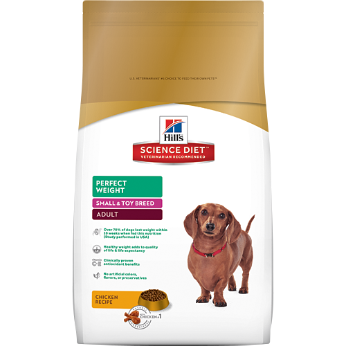 Hill's Science Diet Adult Perfect Weight Small & Toy Breed Canine Dry