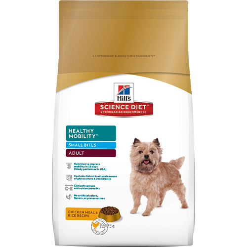 Hill's Science Diet Adult Healthy Mobility Small Bites Canine Dry