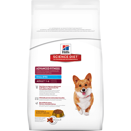 Hill's Science Diet Adult Advanced Fitness Small Bites Canine Dry