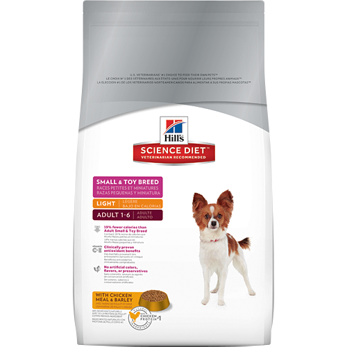 Hill's Science Diet Adult Small & Toy Breed Light Canine Dry