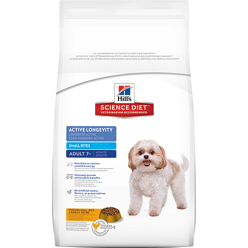 Hill's Science Diet Adult 7+ Active Longevity Small Bites Canine Dry