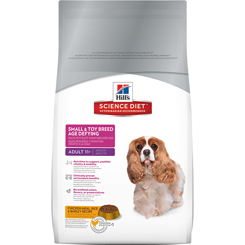 Hill's Science Diet Adult 11+ Small & Toy Breed Age Defying Canine Dry