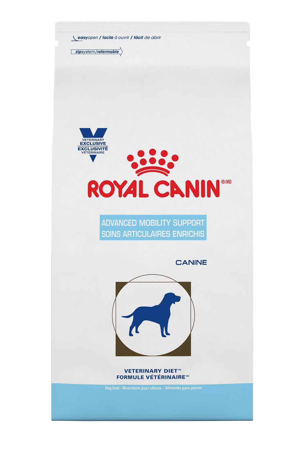 RC Vet. Diet Canine Advanced Mobility Support Dry Dog Food Bag