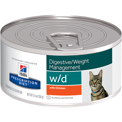 Hill's Prescription Diet w/d Feline Canned