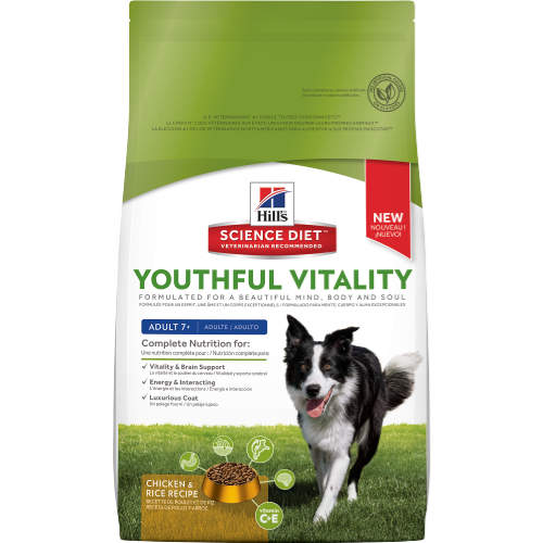 Hill's Science Diet Youthful Vitality Adult 7+ Canine Dry