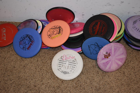 Collection of our putters