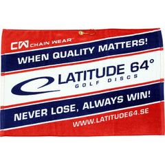 Latitude 64 Full Color Sublimated Towel - Nailed It Disc Golf