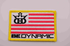 Dynamic Discs Be Dynamic Flag Patch - Nailed It Disc Golf