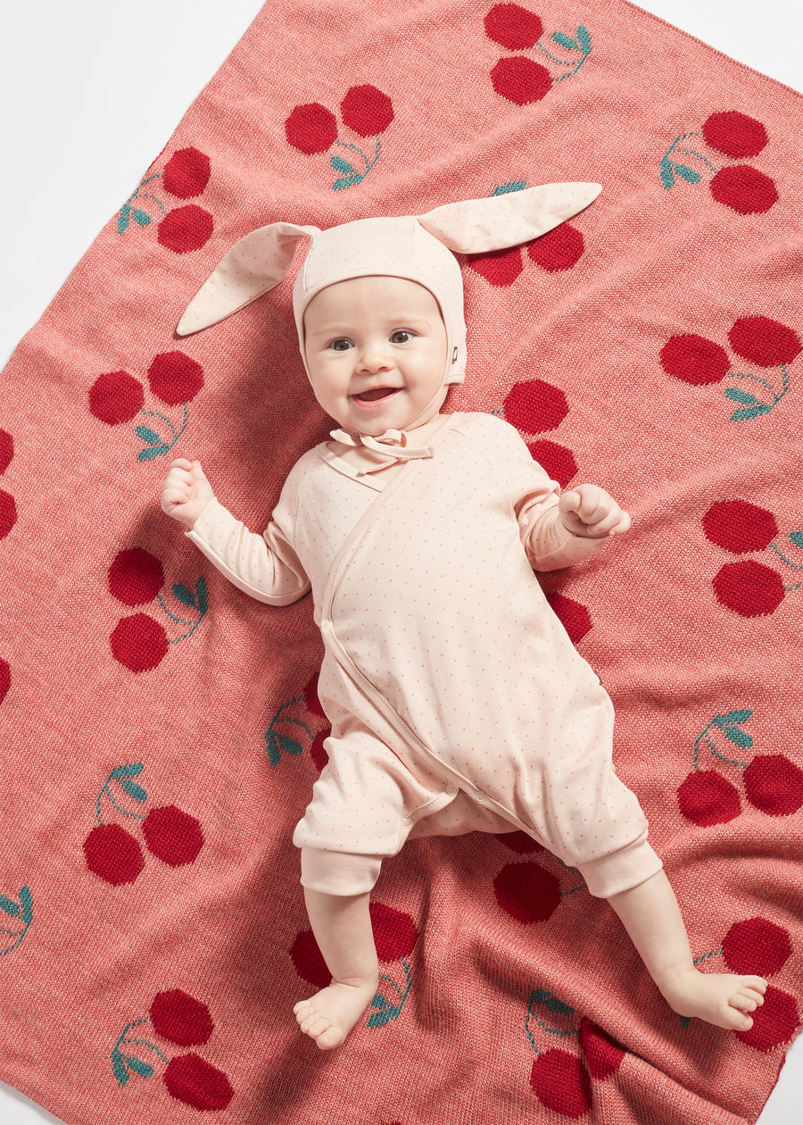 Our layette is made with GOTS-certified organic pima cotton