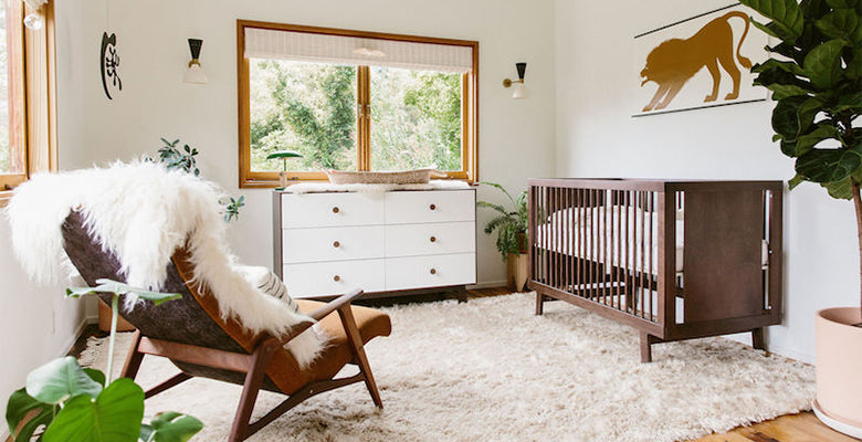 Nursery of Amanda Chantal Bacon as featured in Mother
