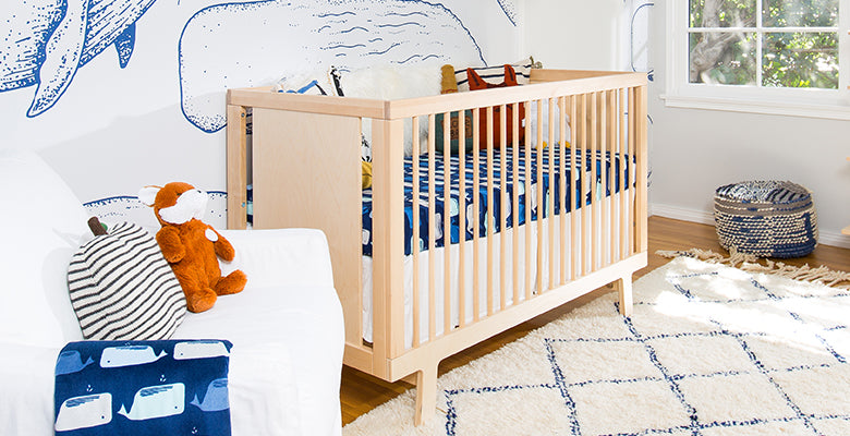 Nursery of Katie Lowes as featured in Architectural Digest