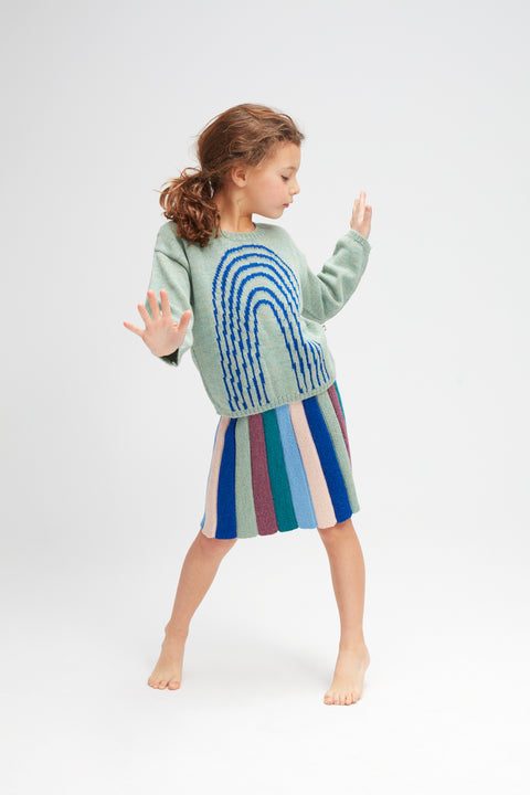 Rainbow Sweater - Oeuf LLC