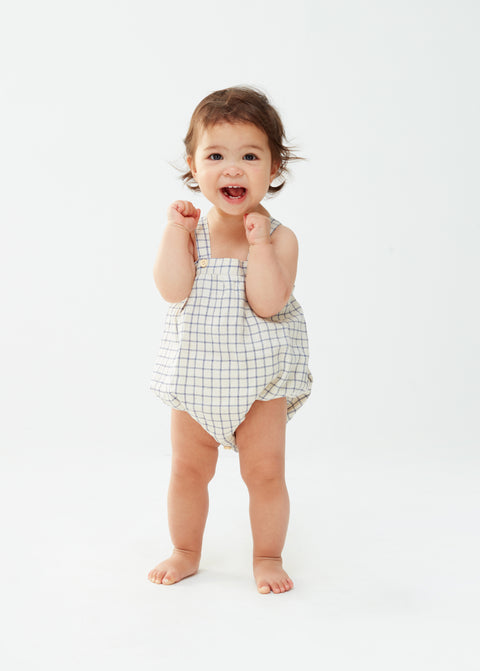 Romper With Straps - Oeuf LLC