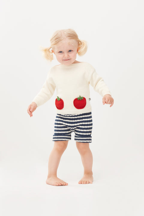 Tomato Pocket Sweater - Oeuf LLC