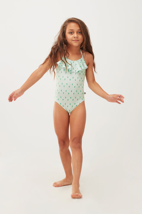 Ruffle Swimsuit - Oeuf LLC