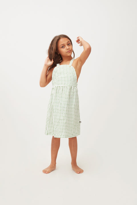 Overall Dress - Oeuf LLC