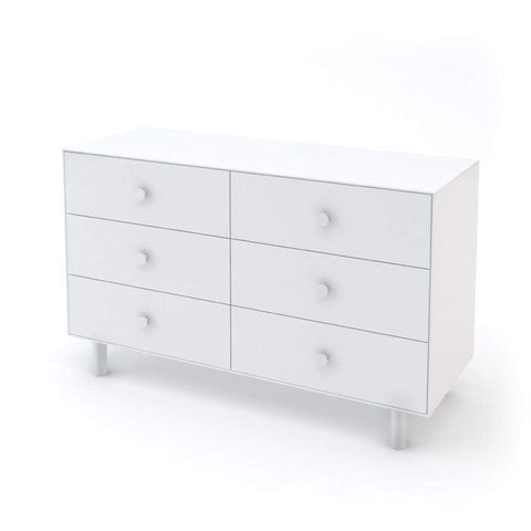 6 Drawer Dresser - Classic-White-Oeuf LLC