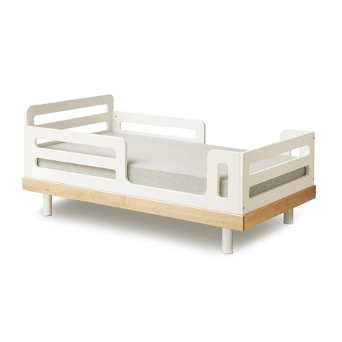 CLASSIC TODDLER BED-White/Birch-Oeuf LLC