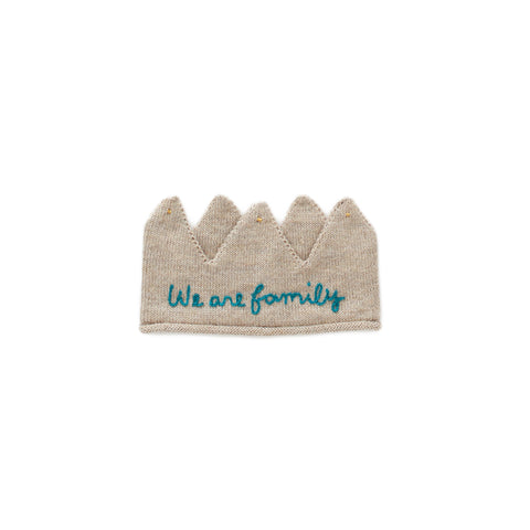 Embroidered Crown - Oeuf LLC