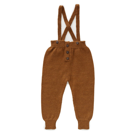 Suspender Pants-Olive-6M-Oeuf LLC
