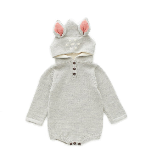 Bambi Hooded Onesie - Oeuf LLC