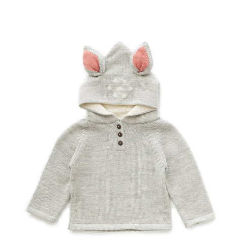 Bambi Hooded Sweater - Oeuf LLC