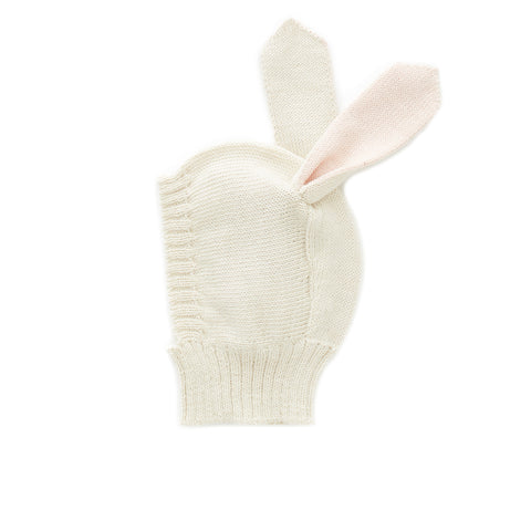Animal Hat-White/Rabbit - Oeuf LLC