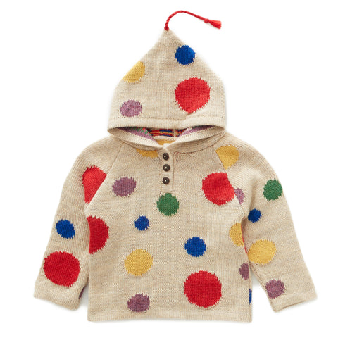 Confetti Hooded Sweater - Oeuf LLC