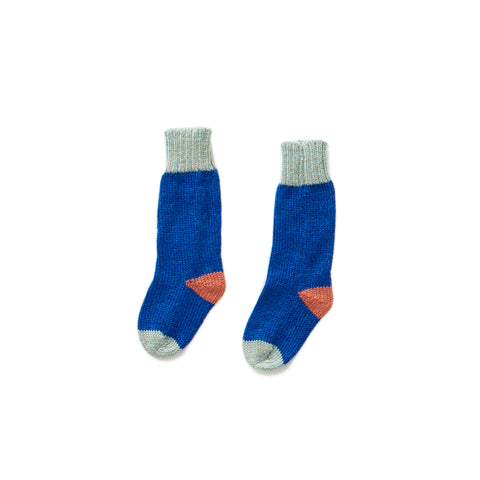 Long Socks-Electric Blue/Ocean-12M-Oeuf LLC