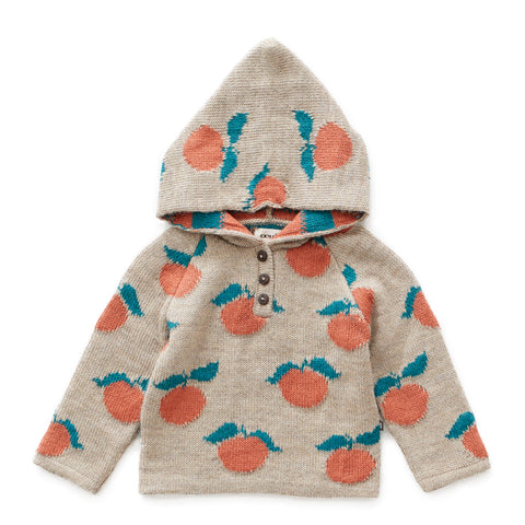 Clementine Single Layer Hoodie - Oeuf LLC