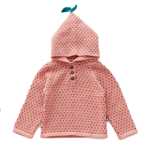 Dot Single Layer Hoodie - Oeuf LLC